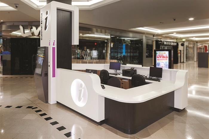 Karrinyup Customer Service Counter by West Coast Shopfitting