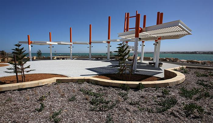 The Esplanade, Geraldton Foreshore by Crothers Construction