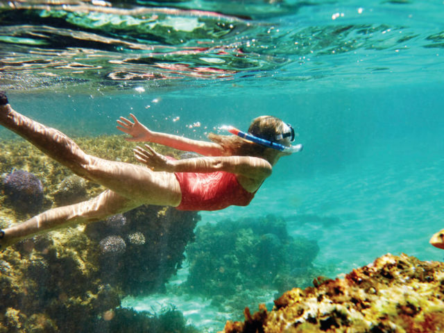 Beautiful snorkelling spots along Rottnest Island's coastline