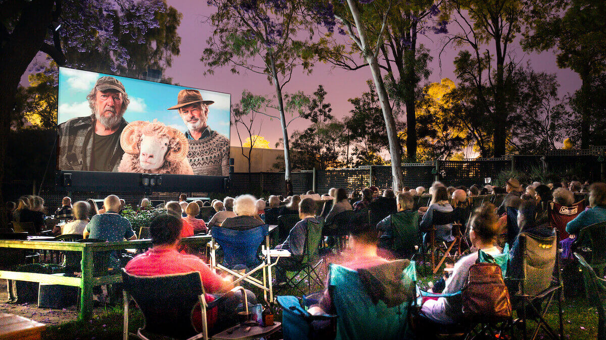 Kookaburra outdoor cinema in Perth
