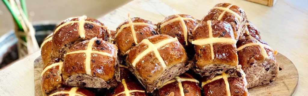 Local bakeries delivering hot cross buns to your door