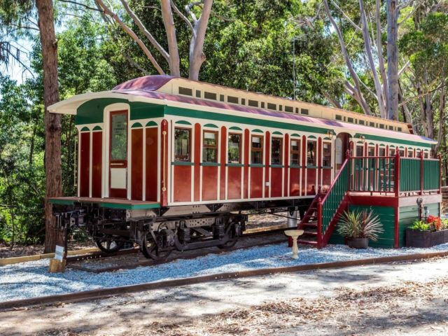 From Fremantle to Dunsborough, Six Cosy Converted Train Carriages for a unique WA Holiday