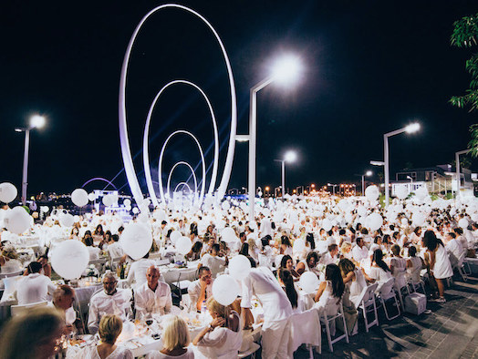 Le Dîner en Blanc, the world's most mysterious and magical picnic, returns to Perth in November