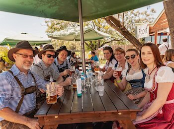 Oktoberfest celebrations on this weekend in Perth