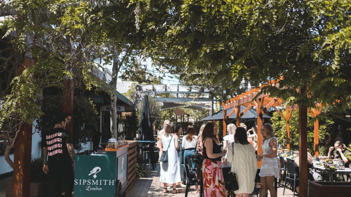 Garden Bar in Perth