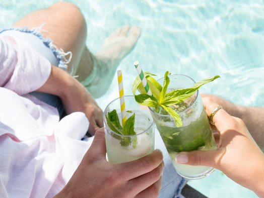 The ultimate summer destination: poolside Cabanas & cocktails at The Marina Mindarie