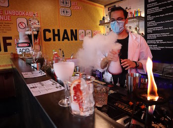 Lucky Chan's opens Breaking Bad themed rooftop bar