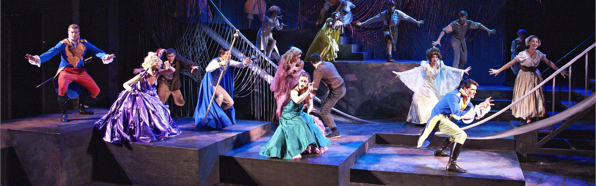 Into the woods production from WAAPA