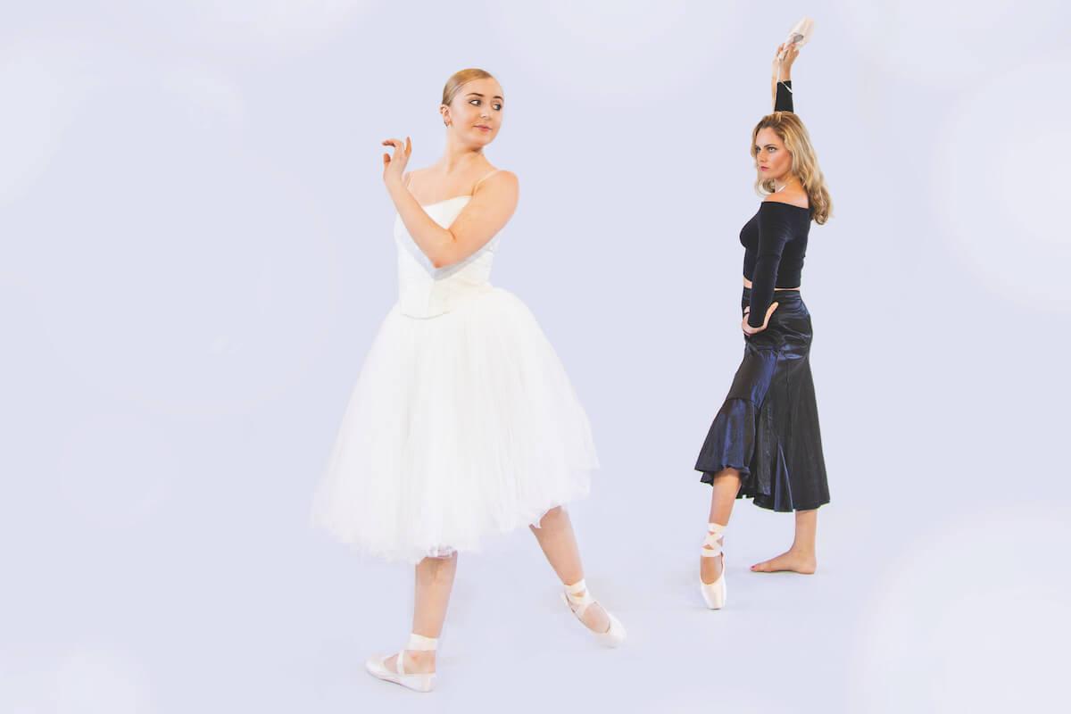 Two WAAPA ballet dancers from Restart