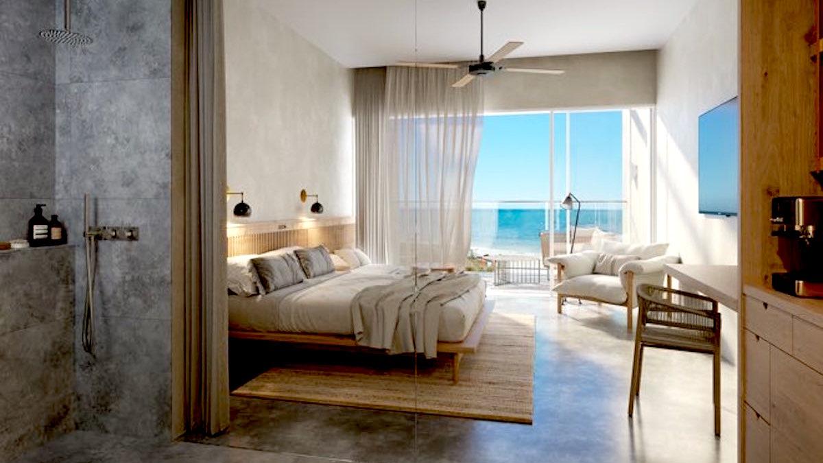 Room in new Rottnest Samphire Hotel