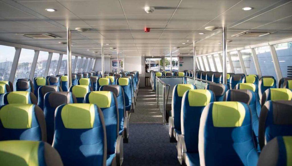 Fast ferry interiors