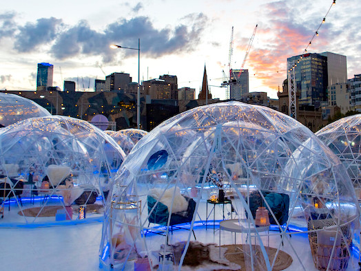 A pop-up winter wonderland is coming to Perth in May with igloos & ice-skating