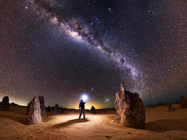 Dark skies and ancient landscapes: stargazing in the Pinnacles Desert