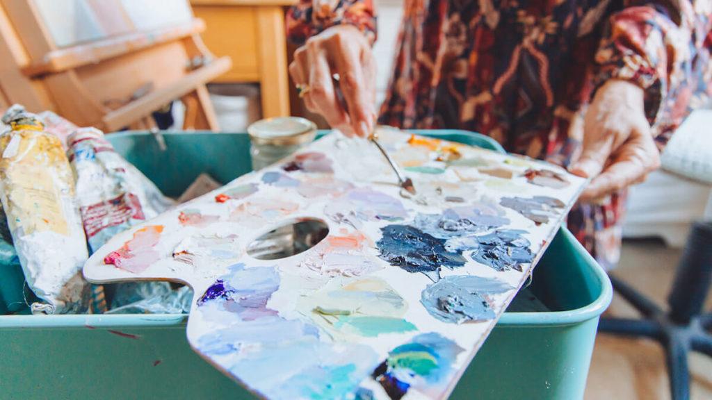 Painter Elizabeth Whiteman Margaret River Region Open Studios