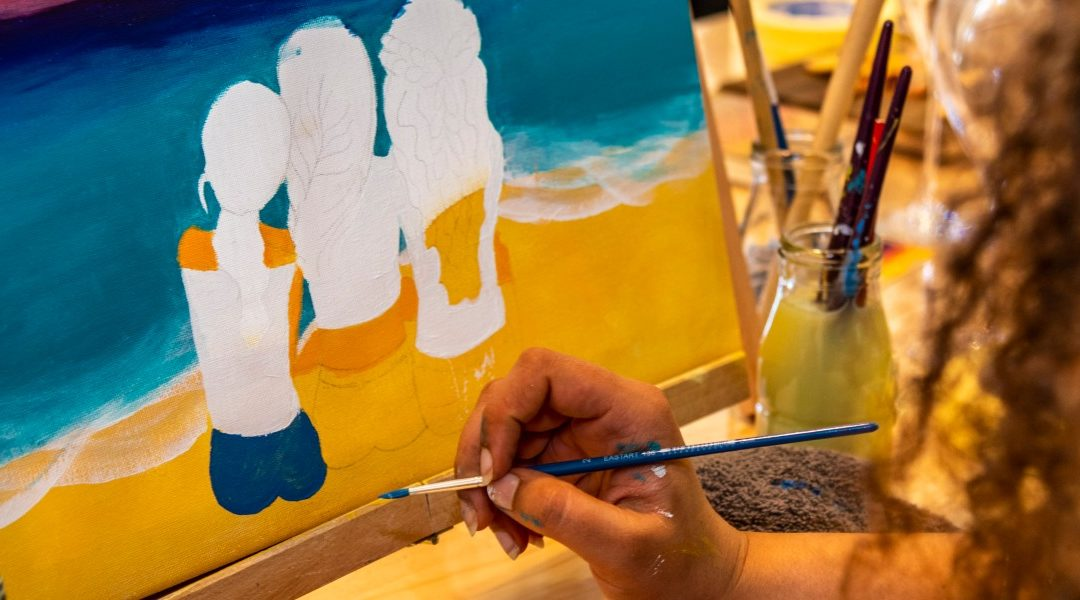 'Paint & Sip' wine and art gallery space opens in Subiaco